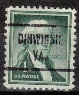 USA Precancel Vorausentwertung Preo, Locals Virginia, Dinwiddie 721 - Vereinigte Staaten