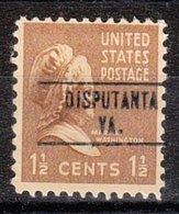 USA Precancel Vorausentwertung Preo, Locals Virginia, Disputanta 748 - Vereinigte Staaten