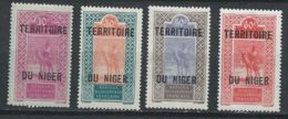 Niger YT 25-28 XX / MNH - Niger (1921-1944)