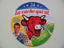 Etiquette Fromage Fondu - Vache Qui Rit - 24 Portions Bel Pub Les Bleus F.F.F Et Deschamp  A Voir ! - Cheese