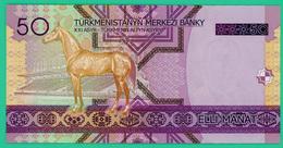 50 Mana - Turkménistan - 2005 - N° AA7048408 -  Neuf - - Turkménistan