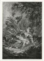 ''Les Amoureux Découverts'' R.Gaillard, Musée National Des Beaux'Arts.Baku. Carte Postale Neuve Format 20 X 14,5 Cm - Azerbaïjan