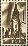 Franz. Zone-Baden 13II Winkel Im Entwerfernamen Postfrisch 1947 Freimarken - Zone Française