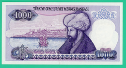 1000 Lira - Turquie - 1970-86 - N° F11614049 -  Neuf - - Turquie