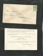 Faire Part Déces De M Louis Alexandre Garoteau Ancien Maire De Champdeniers ( Dpt 79 ) Le 19/05/1901  Lo42903 - Avvisi Di Necrologio