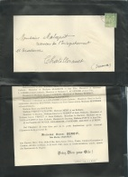 Faire Part Déces De Mme  Henri Benoit  Née Marthe Chartray Au Blanc ( Dpt 36 ) Le 22/04/1900  Lo42904 - Avvisi Di Necrologio