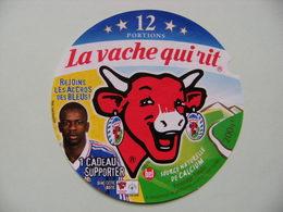Etiquette Fromage Fondu - Vache Qui Rit - 12 Portions Bel Pub Les Bleus F.F.F Et Thuram  A Voir ! - Cheese