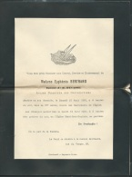 Faire Part Déces De Mme Euphemie Bertrand épouse De M. Ducasse à Chatellerault Le 12/08/1901  Lo42906 - Avvisi Di Necrologio