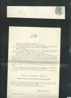 Faire Part Déces De M Alphonse Dreyer  à Reims Le 13/06/1906   Lo42911 - Avvisi Di Necrologio