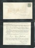 Gueret  - Faire Part Déces De M Aymar Joubert à Paris Le 19/06/1906  Lo42913 - Avvisi Di Necrologio