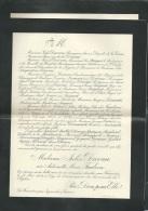 F.P. Déces De Mme Jules Duvau Née Antoinette Marie Faulcon Aux Fouinieres PAR INGRANDE/VIENNE Le 11/05/1904   Lo43003 - Avvisi Di Necrologio