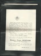 F.P. Déces De M Firmin Chantaize à Thouars Le 27/05/1904     Lo43006 - Avvisi Di Necrologio