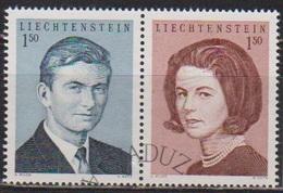 Lichtenstein 1967 MiNr.478 - 479 Aus Block 7 Hochzeit Erbprinz Hans Adam Mit Gräfin Marie( 1724 ) Günstige Versandkosten - Liechtenstein