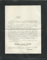F.P. Déces De Mme Casimir Gayda  Née Lucie Polère à Paris Le 22/01/1904   Lo43011 - Avvisi Di Necrologio