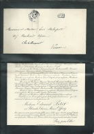 F.P. Déces De Mme  Edouard Petit à Chinon Le 7/02/1904  Lo43014 - Obituary Notices