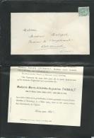 F.P. Déces De Mme Marie Adelaide Augustine Thibault Veuve De M Imbert Maire De Civray Le 7/03/1904  Lo43015 - Avvisi Di Necrologio