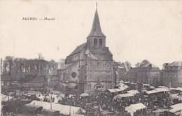 AUCHEL - PAS DE CALAIS -  (62)  -  CPA TRÈS ANIMÉE. - Autres Communes
