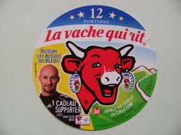 Etiquette Fromage Fondu - Vache Qui Rit - 12 Portions Bel Pub Les Bleus F.F.F Et Barthez  A Voir ! - Cheese