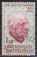 Lichtenstein 1967 MiNr.480 40.Todestag Johann Baptist Büchel( 1760) Günstige Versandkosten - Liechtenstein