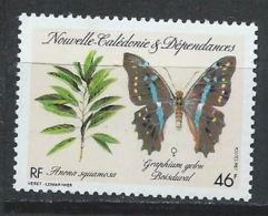 Nouvelle-Calédonie YT 532 XX / MNH Papillon Butterfly - Neufs