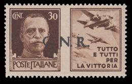 Italia: R.S.I. - G.N.R.  PROPAGANDA DI GUERRA: 30 C. Bruno (III - Aviazione) - 1944 - 4. 1944-45 Repubblica Sociale