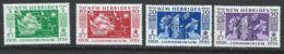 Nouvelles-Hébrides YT 171-174 XX / MNH - English Legend