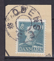 Denmark Mi. 277 Stjernestempel Star Cancel (0971) ODENSE 5. (Underlagt ODENSE) 60 Øre King Chr. X. Stamp - 1913-47 (Christian X)