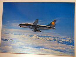 AIRLINE ISSUE / CARTE COMPAGNIE     LUFTHANSA B 737 - 1946-....: Ere Moderne