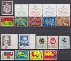 Lichtenstein Jahrgang 1969 MiNr.506 - 520 O Gest.komplett ( D 3256 )günstige Versandkosten - Liechtenstein