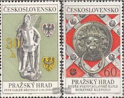 Tschechoslowakei 1789-1790 (kompl.Ausg.) Postfrisch 1968 Prager Burg - Czechoslovakia