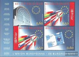Belgium Block94 (complete Issue) Unmounted Mint / Never Hinged 2004 Extension The European Union - Blocks & Sheetlets 1962-....
