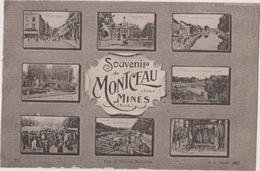 Souvenir De Montceau Les Mines - Montceau Les Mines