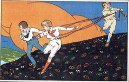 SENZA AUTORE - Bambini - Serie 2809-1 - MOLTO BELLA !! - Rif. 194 Ill. - 1900-1949