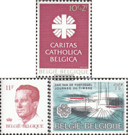 Belgium 2130,2137,2141 (complete Issue) Unmounted Mint / Never Hinged 1983 Caritas, Baudouin, Stamp - Belgium