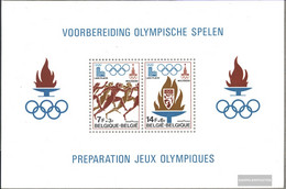 Belgium Block47 (complete Issue) Unmounted Mint / Never Hinged 1978 Olympics - Blocks & Sheetlets 1962-....