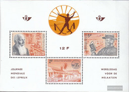 Belgium Block29 (complete Issue) Unmounted Mint / Never Hinged 1964 Fight Against The Leprosy - Blocks & Sheetlets 1962-....