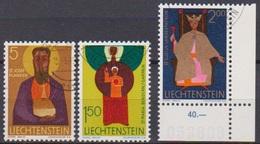 Lichtenstein 1968 MiNr.500 - 52 O Gest.Kirchenpatrone ( 1757 )günstige Versandkosten - Liechtenstein
