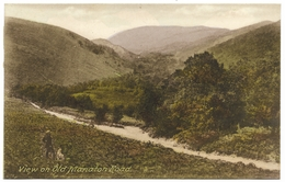 View On Old Manaton Road Dartmoor Unused C1936 Frith - Other