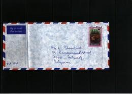 Tuvalu Interesting Airmail Letter - Tuvalu