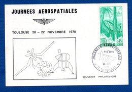 Carte / Journées Aérospatiales / Toulouse   / 20 Novembre 1970 - 1970-79