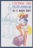 = XIXème Journées Des Collectionneurs 2001 Amicale Philatélique Cartophile De Coutras - Sammlerbörsen & Sammlerausstellungen