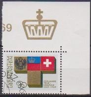 Lichtenstein 1968 MiNr.517 O Gest. 100 Jahre Telegrafie In Lichtenstein ( 1880 )günstige Versandkosten - Liechtenstein