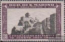 San Marino 209 MNH 1935 Wall E Hochstrasse - San Marino