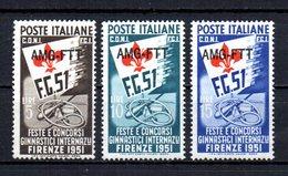 ITALIA TRIESTE 1951 MINT MNH , - Trieste