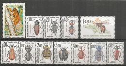 Insectes De France , 12  Timbres Neufs ** De France - Insekten