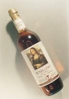 PHOTO Mona Lisa LA JOCONDE ETIQUETTE DE VIN ROSELLINO DI VINCI 1986 - Unclassified