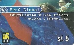 Prepaid: IDT Perú Global - Peru