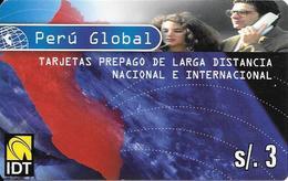 Prepaid: IDT Perú Global (Danercard) - Peru