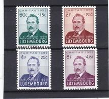 L 154 - Luxembourg Prifix N° 501 à 504 Neufs Sans Charnière ** - Ungebraucht