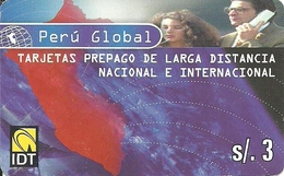 Prepaid: IDT Perú Global (alcard) - Peru